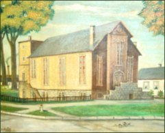 Painting of the Original Turner Hall.